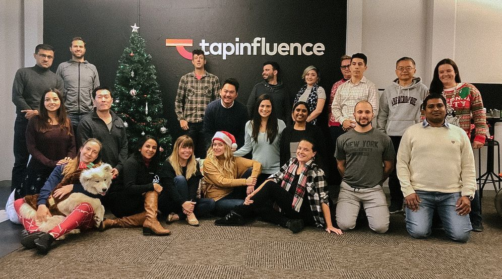 tapinflence team photo