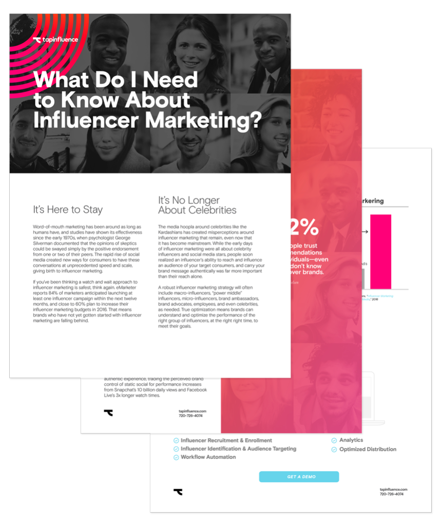 What do I need to know about influencer marketing